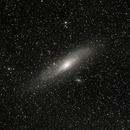 M31 Andromeda Galaxy Wide field,                                Michael Finan