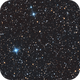 Abell 83 tiny planetary in Cassiopeia, HOO with RGB stars.,                                Pat Rodgers