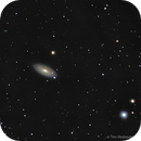 First light with upgraded setup (OAG) - NGC2841 at full moon,                                RononDex