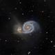 Whirlpool Galaxy,                                Fritz