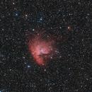 Pacman-Nebulla (NGC281),                                Marcus Jungwirth