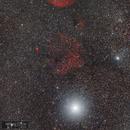 Planetary Nebula Sh2-216 and Supernova Remnants SH2-221,                                Alberto Pisabarro