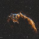Network nebula - NGC 6992,                                U-ranus