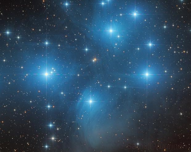 M45 - The Pleiades,                                Samuli Vuorinen