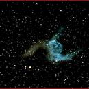 NGC2359 Thor's Helmet,                                AlBroxton