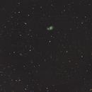M51 (Whirlpool galaxy) / Canon 6D serial + SW 80ED PRO / SW EQ M 35 / iso640,                                patrick cartou