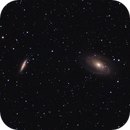 M81 and M82,                                Cometeer