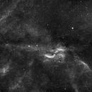 LBN 278 Propeller Nebula Composition of 4 panels,                                angelo mazzotti