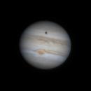 Jupiter, GRS transit with Ganymede, Callisto, Io,                                Euripides