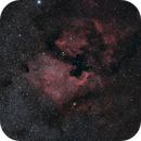 NGC7000 The Wall @ 150mm,                                SpacemanSpiff