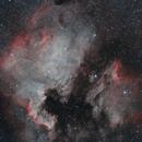 North America and Pelican Nebula,                                pmumbower