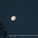 Mond und Jupiter,                                Benny Hartmann