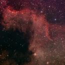 Cygnus Wall (Part of the North America Nebula - NGC 7000),                                Antonis Karousis