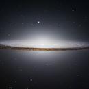 Hubble's Sombrero,                                Bogdan Borz