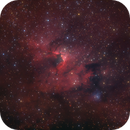 Sh2-155 Cave Nebula and VDB 155 Reflection Nebula, Reprocessed,                                Rolf Dietrich