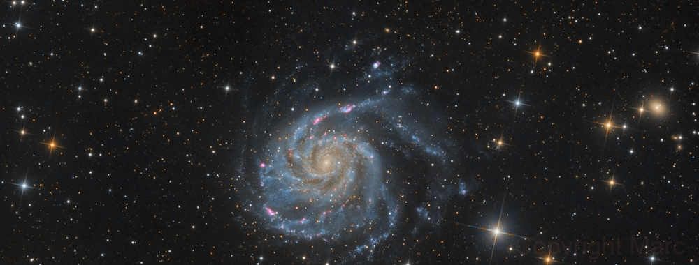 Messier 101,                                Marc