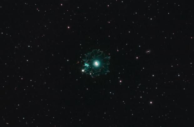The Cats Eye Nebula, NGC 6543, Caldwell 6,                                Steven Bellavia