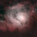 M8  Lagoon Nebula 12-07-2021,                                Wagner