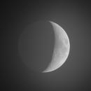 Moon and Earthshine,                                Steed Yu