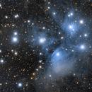 M45 Pleiades,                                Paweł Radomski
