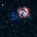 Trifid Nebula, M20,                                Jay