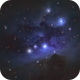 NGC 1975 - Running man nebula,                                Ricardo L Pinto