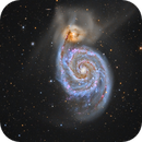 M 51 (Whirlpool galaxy),                                DetlefHartmann