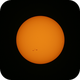 Sun - 2015/08/22 with AR 2403/2404,                                gigiastro