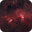 NGC 3576 Statue of Liberty Nebula,                                tornado33