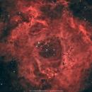 Rosette Nebula RGB + Ha,                                Salvatore Cozza