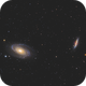 Bode's Nebulae,                                Damien Cannane