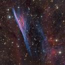 """Pencil nebula"" (NGC 2736) - DSW processing contest,                                Jean-Baptiste Auroux"