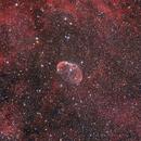 Crescent Nebula (NGC6888),                                Sebastiano Recupero