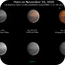Mars on November 29, 2020 (OSC RGB and IR),                                JDJ