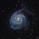 M101  Pinwheel Galaxy,                                Christer Strandh