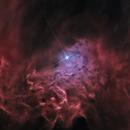 Flaming star Nebula, IC405,                                Ola Skarpen SkyEyE