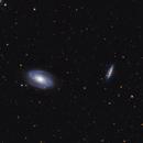 M81and M82 in LRGB,                                Ryan
