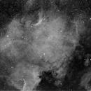 NGC7000 & IC5070 Ha,                                Stéphane Baron