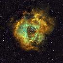 Rosette Nebula,                                Plouto