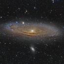 M31 - Andromeda,                                Adam Jaffe