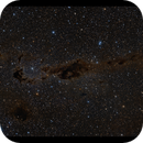 LDN1392 - LDN1412. Rarely imaged dark nebulosity in Camelopardalis,                                Göran Nilsson