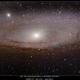 M31 The Adromeda Galaxy  8/19/2014,                                rigel123