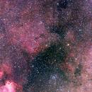 vdB114, 116, 117, 120, 121; Sagittarius,                                Thomas V. Davis