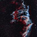 Veil Nebula - NGC6992 (part two),                                Seymore Stars