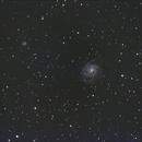 M101 Pinwheel Galaxy,                                Robert Engberg
