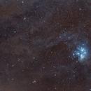 M45 wide field,                                David Feng