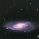 M 106, Spiral Galaxy,                                w4sm