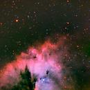 NGC 281, PacMan Nebula, HaRGB,                                Stephen Garretson