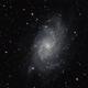 Messier 33 - Triangulum Galaxy,                                Tanguy Dietrich
