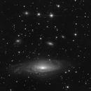 NGC7331 / Deer Lick group - Short Exposures,                                Romain Chauvet